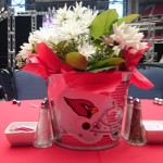 Cardinals Centerpiece.